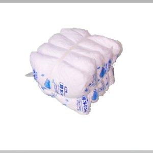 画像1: 白シーツウエス Wタイプ 【検針済】 10kg梱包(2kg×5袋)